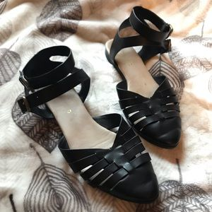 Restricted Strappy Sandals